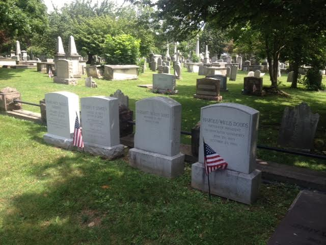 Presidents Row graves