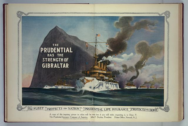 Prudential ad 1909